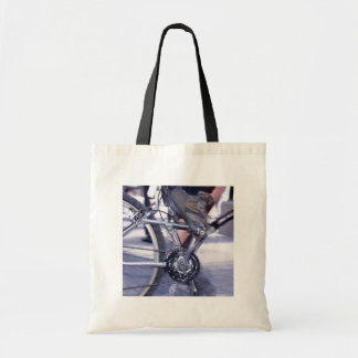 Bicycle Cycle Bicycling Cycling Rush Hour Tote Bags