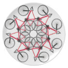 Bicycle cycle plate