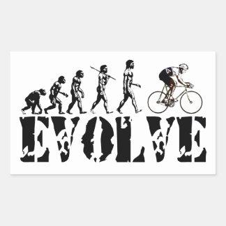 Bicycle Cycling Bike Riding Evolution Sports Art Sticker