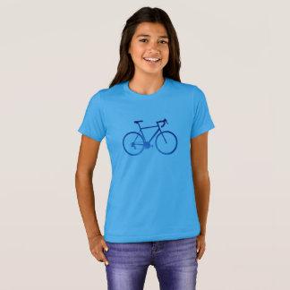 Bicycle Cycling T-Shirt, Aurora Northern Lights T-Shirt