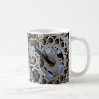 bicycle detail coffee mug