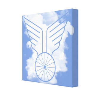 Bicycle freedom canvas print