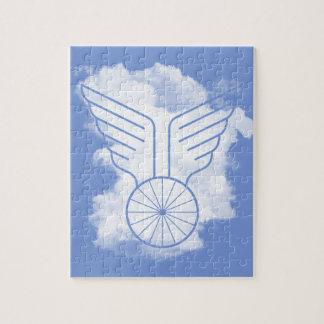 Bicycle freedom jigsaw puzzle