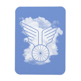 Bicycle freedom magnet