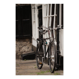 Bicycle in a Corner Print