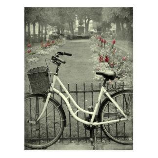 Bicycle in Copenhagen Postcard