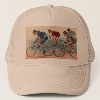 Bicycle Lithos Ad 1896 Trucker Hat