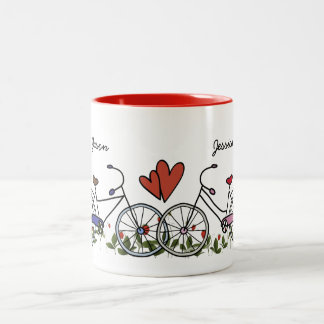 Bicycle Lover Couples Coffee Mug