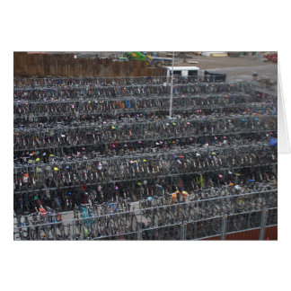 Bicycle parking, Holland Card
