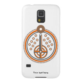 Bicycle Parts Illustration Cases For Galaxy S5