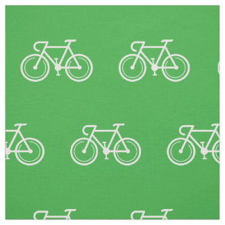 Bicycle pattern fabric | Bike print design textile