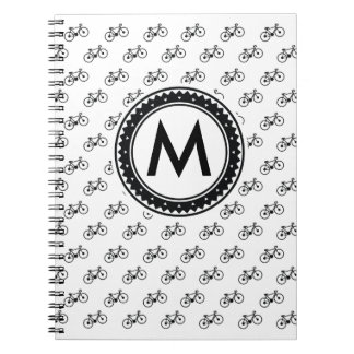 Bicycle Pattern Notebook