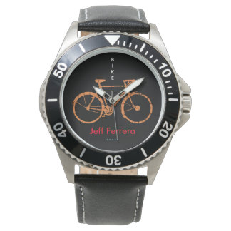 Bicycle personalized with Name Watch