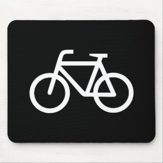 Bicycle Pictogram Mousepad