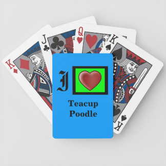 """Bicycle Playing Cards"" Custom Poker Deck"