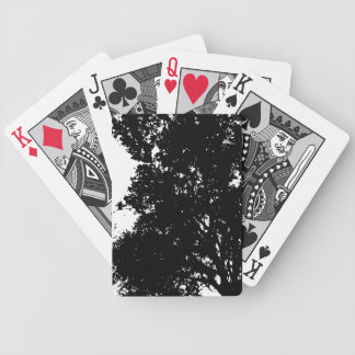 Bicycle Playing Cards PAPA'S TREE SILHOUETTE