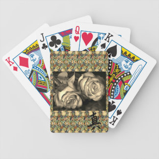 "Bicycle Playing Cards ROSES & KANJI SYMBOL ""TRUTH"""