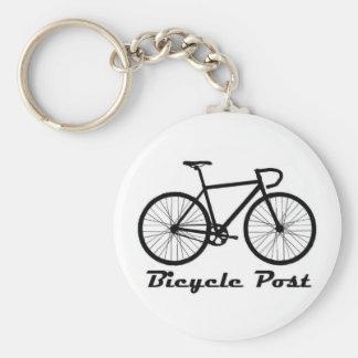 Bicycle Post Keychain