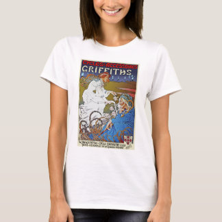 Bicycle Poster Advertisement: Griffiths Cycles T-Shirt