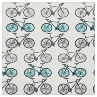 Bicycle Print Design Fabric Material