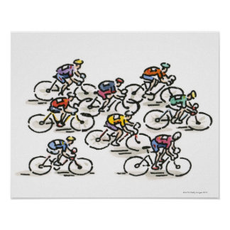 Bicycle Race Poster