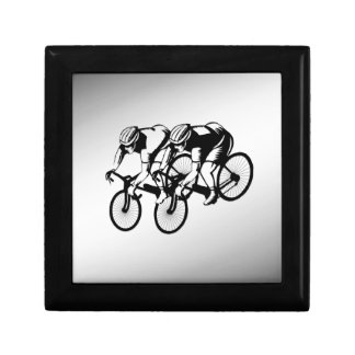 Bicycle Race Silver Gift Box