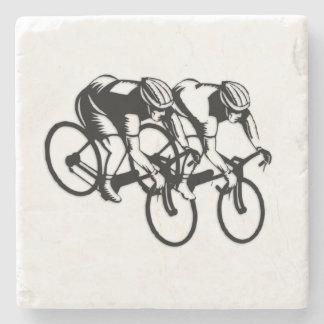 Bicycle Race Stone Coaster