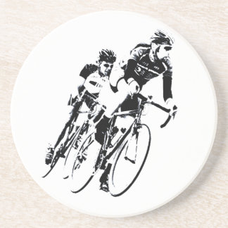 Bicycle Racers into the Turn Coaster