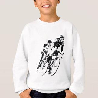 Bicycle Racers into the Turn Sweatshirt