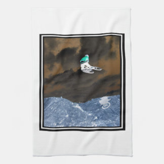 Bicycle Rally Kitchen Towel