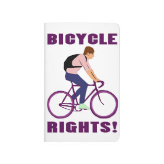 Bicycle Rights in Purple Journal