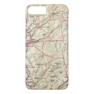 Bicycle Roads in New York and Conneticut 2 iPhone 7 Plus Case