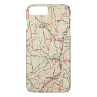 Bicycle Roads in New York and Conneticut 4 iPhone 7 Plus Case