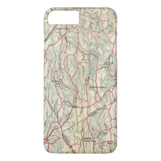 Bicycle Roads in New York and Conneticut iPhone 7 Plus Case