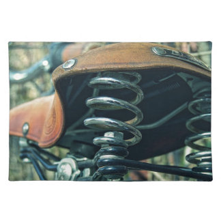 Bicycle Saddle Placemat
