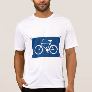 Bicycle Sign Mens Active Tee