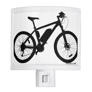 Bicycle Silhouette Nite Lights