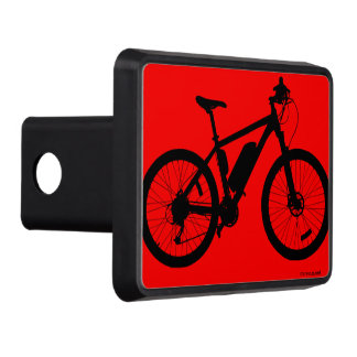 Bicycle Silhouette Trailer Hitch Cover