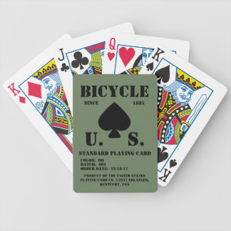 Bicycle Standardized OD Playing Cards
