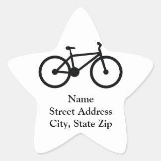Bicycle Star Sticker