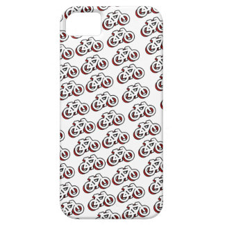Bicycle tiles pattern lots of bicycle iPhone 5 cover