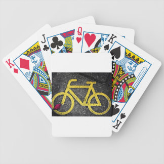 bicycle traffic bicycle playing cards