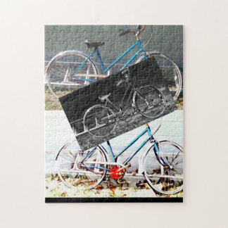 bicycle vintage jigsaw puzzle