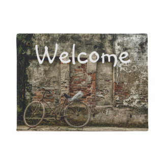 Bicycle Welcome Doormat