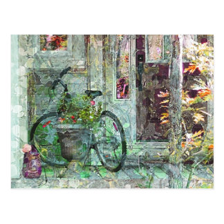 Bicycle - Welcome Home Art Postcard