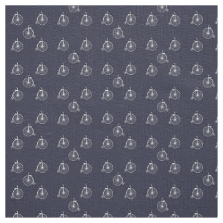 Bicycle White Fabric