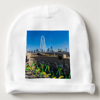 Bicycles And Dallas Baby Beanie