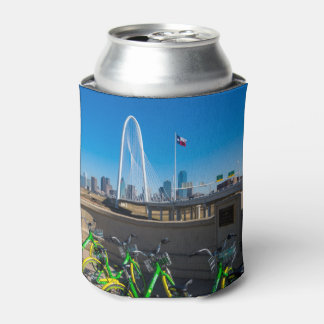 Bicycles And Dallas Can Cooler