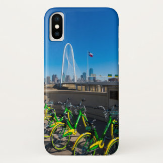 Bicycles And Dallas iPhone X Case