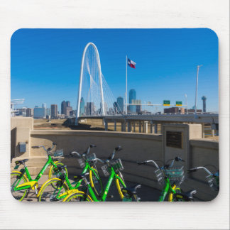 Bicycles And Dallas Mouse Pad